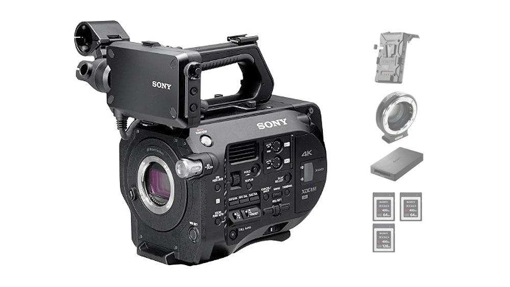 Sony PXW-FS7 – Sistema De Câmera XDCAM Super 35