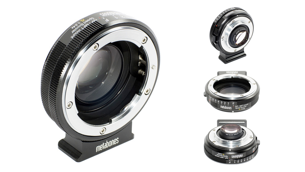 Adaptador Metabones Speed Booster XL 0.64x Para Nikon