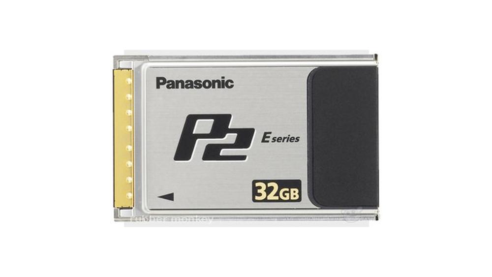 Cartão P2 Panasonic 32GB AJ-P2E032FG