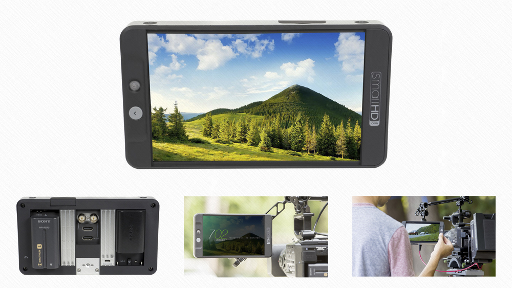 SmallHD 702 Bright 7″ Full HD
