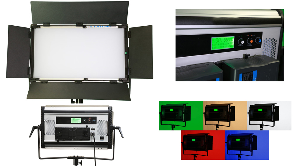 Painel De LED Vari-Light RGB+W Soft Lighting
